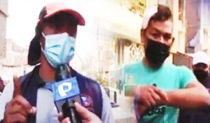 Vecinos y mototaxistas enfrentados por paradero en Ate