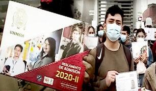 UNMSM: jóvenes denuncian que no pueden dar examen de admisión desde hace dos años