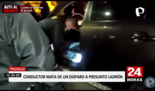 Trujillo: dispara y mata a presunto ladrón durante asalto