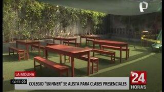 La Molina: Colegio Skinner se alista para regresar a clases presenciales