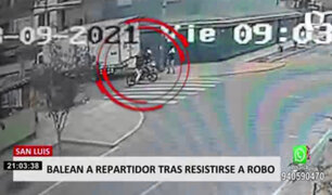 San Luis: disparan a repartidor en la mandíbula tras resistirse a robo de su motocicleta