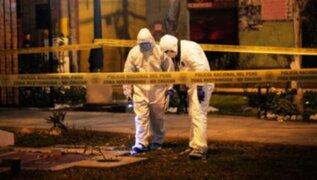 Ate: sujeto asesinado de 30 balazos estaría involucrado en cobro de cupos a meretrices