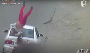 'En la mira': Imprudencia de conductores provocan terribles accidente