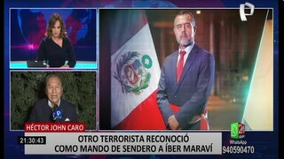 """Ex jefe de la Dircote sobre atestados contra Maraví: """"Se le deben dar el valor de una verdad"""""""