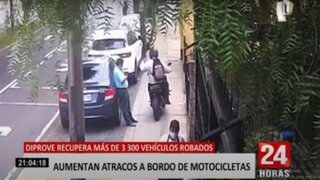 SJL: Recuperan más de tres mil vehículos robados