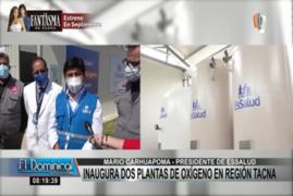 Presidente de Essalud asegura oxígeno medicinal para regiones