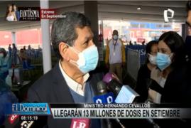 Ministro de Salud se pronuncia sobre flexibilización de restricciones