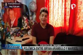 Huacho: cantante Bryan Arambulo le responde a Marisol 'la faraona de la cumbia'