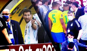 ¡Escándalo!: Conmebol confirmó suspensión del Brasil vs. Argentina