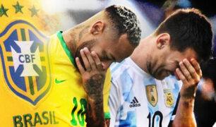 """CBF sobre suspensión del Brasil vs. Argentina: """"Se podría haber evitado mucho antes"""""""