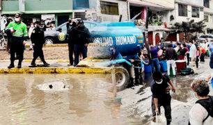 Nuevo aniego en SJL: vecinos desesperados ante corte de agua de Sedapal