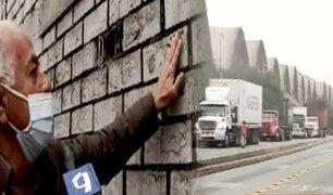 Callao: denuncian polvillo negro presuntamente causado por transporte de minerales