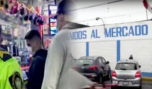 Surco: detienen a 20 personas por presunta receptación en mercado Jorge Chávez