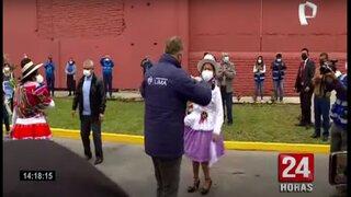 Alcalde Muñoz entregó obras de mejoramiento vial en el Cercado de Lima
