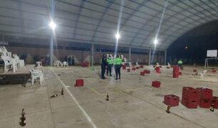Covid-19: intervienen a 300 personas bailando y bebiendo licor en un local comunal de Huancayo