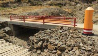 Huancayo: inauguran puente con el nombre de 'Vladimir Cerrón'