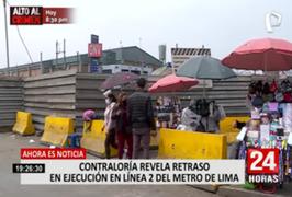 Contraloría encontró retraso en funcionamiento de la etapa 1A de Línea 2 del Metro de Lima