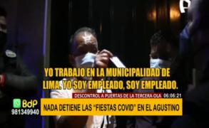 El Agustino: nada detiene las 'Fiestas Covid'