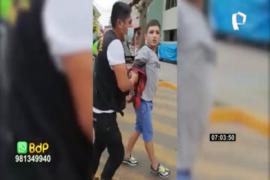 La Victoria: detienen a ladrón que asaltó a repartidor
