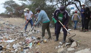 Lambayeque: realizan jornada de limpieza y conservación en complejo arqueológico Chililí