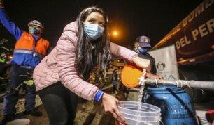 SJL: Sedapal restablecerá el servicio de agua recién el miércoles 15 de setiembre