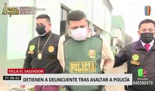 VES: detienen a sujeto que asaltó a policía para robarle su auto