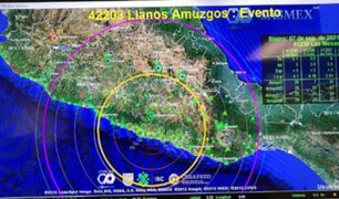 México: se reportó sismo de 6.9 grados