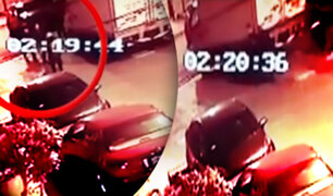 Delincuentes se roban camión empujándolo en SMP