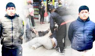 Puente Piedra: Cae banda que asaltaban a transeúntes con arma robada a policía