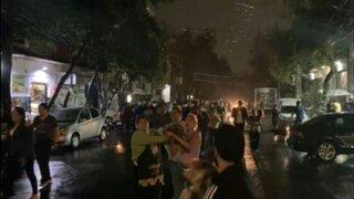 México: reportan al menos un fallecido tras terremoto de 7.1