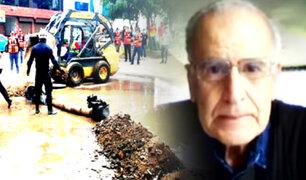 ¿Por qué están colapsando tuberías y ductos de agua en Lima?