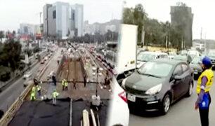 Obras en óvalo Monitor: conozca los desvíos ante reducción de carriles en av. Javier Prado