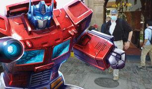 Transformers en Cusco: actores llegaron para iniciar rodaje