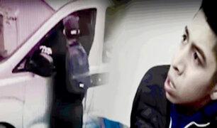 Alias 'Cachorro', cuenta con amplias denuncias por robo agravado a sus 18 años
