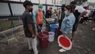 "Alcalde de SJL sobre corte de agua: ""Quien administra, quien cobra bien y da pésimo servicio es Sedapal"""