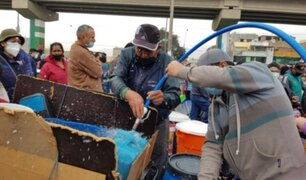 Sedapal: servicio de agua potable se reanudará este domingo en SJL