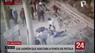 El Agustino: Grupo Terna captura a delincuente que asaltaba a punta de pistola