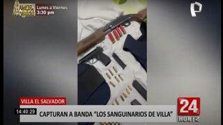 """VES: capturan a banda """"Los Sanguinarios de Villa"""""""