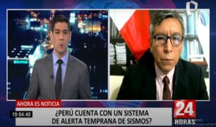 Alerta sísmica en el Perú se implementará el próximo año