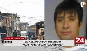 VES: delincuentes asesinan a comerciante que intentó impedir robo a su esposa