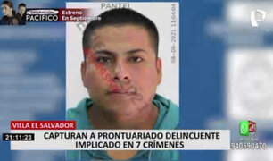 VES: capturan a banda delincuencial que estaría implicada en 7 asesinatos
