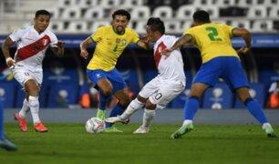 Perú pierde 2-0 ante Brasil por la fecha 10 de las Eliminatorias Qatar 2022