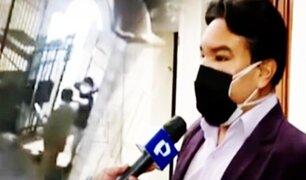 Surco: Víctima de robo en su propio condominio señala que ladrones eran extranjeros
