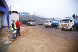 SJL: Ministerio de Vivienda inspecciona reparto gratuito de agua