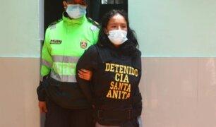 Huancavelica: capturan a mujer que descuartizó a su hijo de 3 años