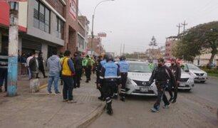 Callao: extranjeros atacaron a pedradas y botellazos a serenos