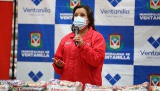 Dina Boluarte: La situación de Maraví está en manos del Congreso