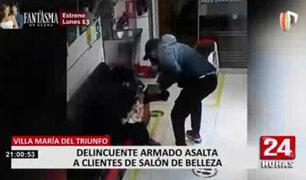VMT: delincuentes armados asaltaron spa