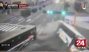 Choque de dos buses dejó al menos 12 personas heridas en La Victoria