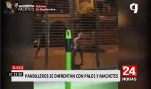 Surco: pandilleros tienen atemorizados a vecinos por enfrentamientos